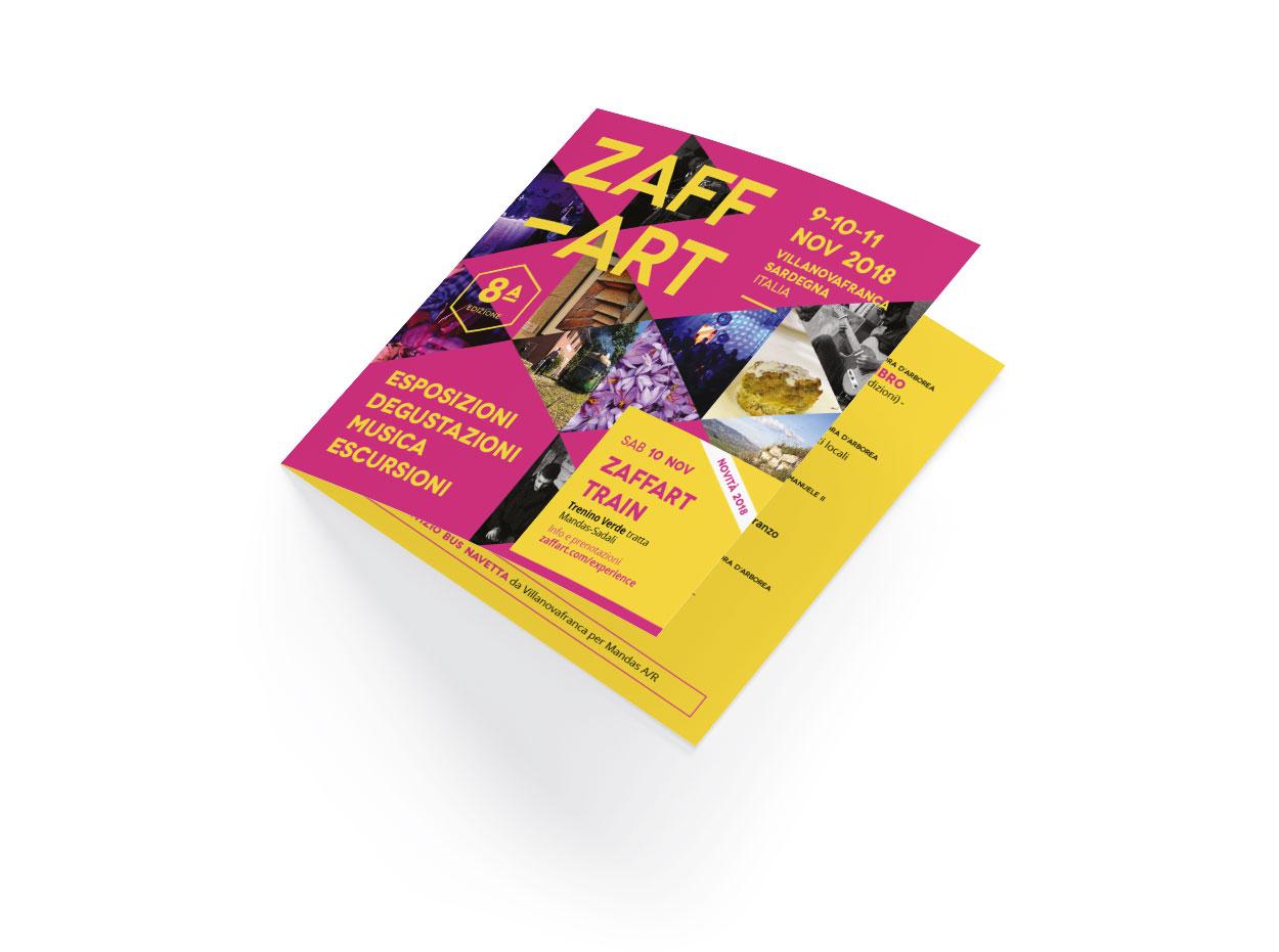 Diseño Diptico Zaffart 2018