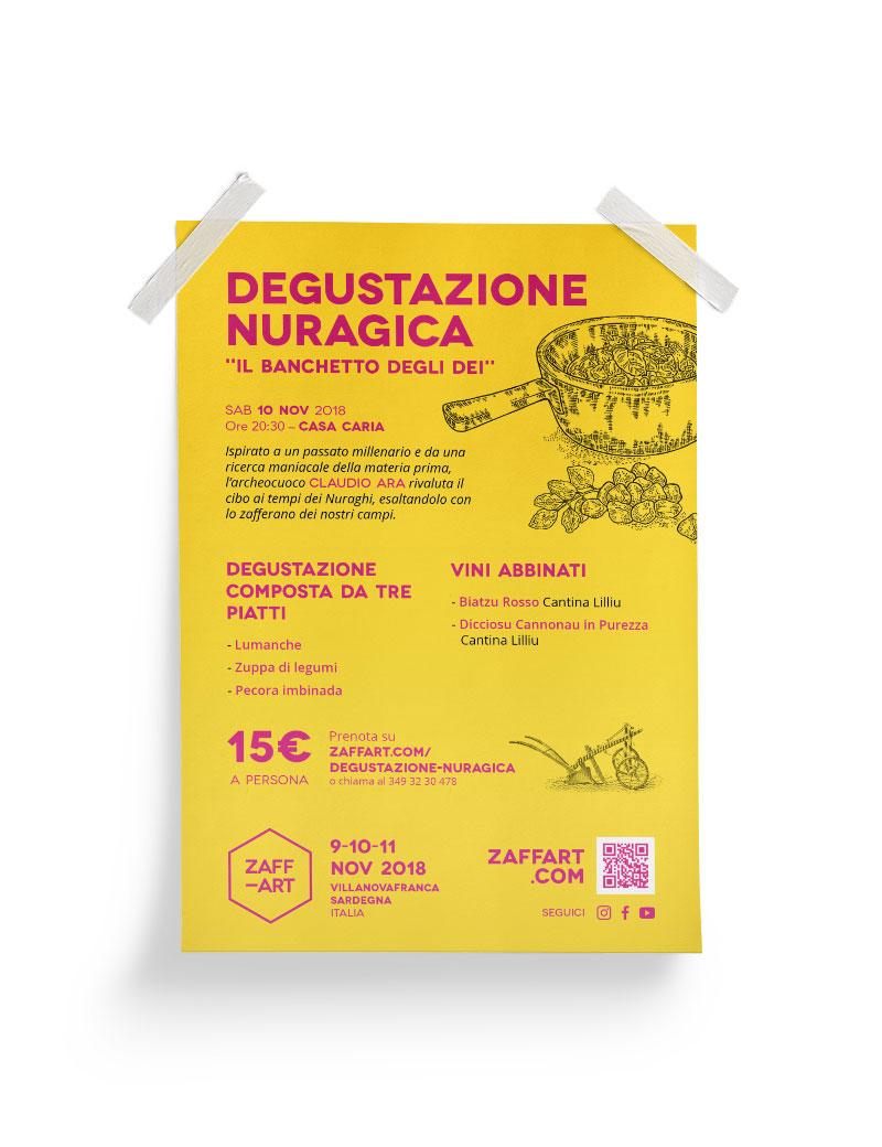 Menu Degustazione Nuragica Zaffart 2018
