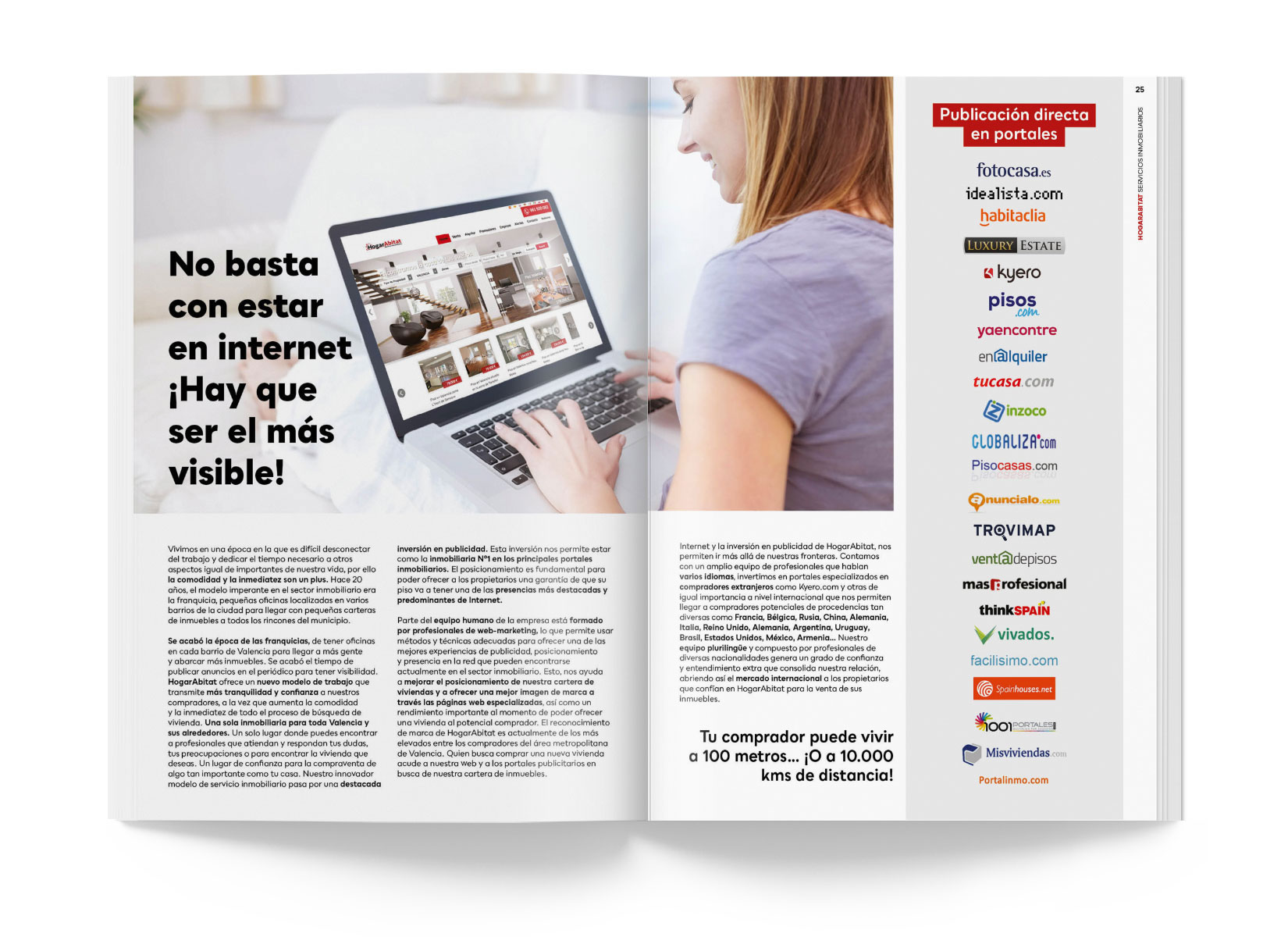 Diseño Editorial Revista HogarAbitat 2018