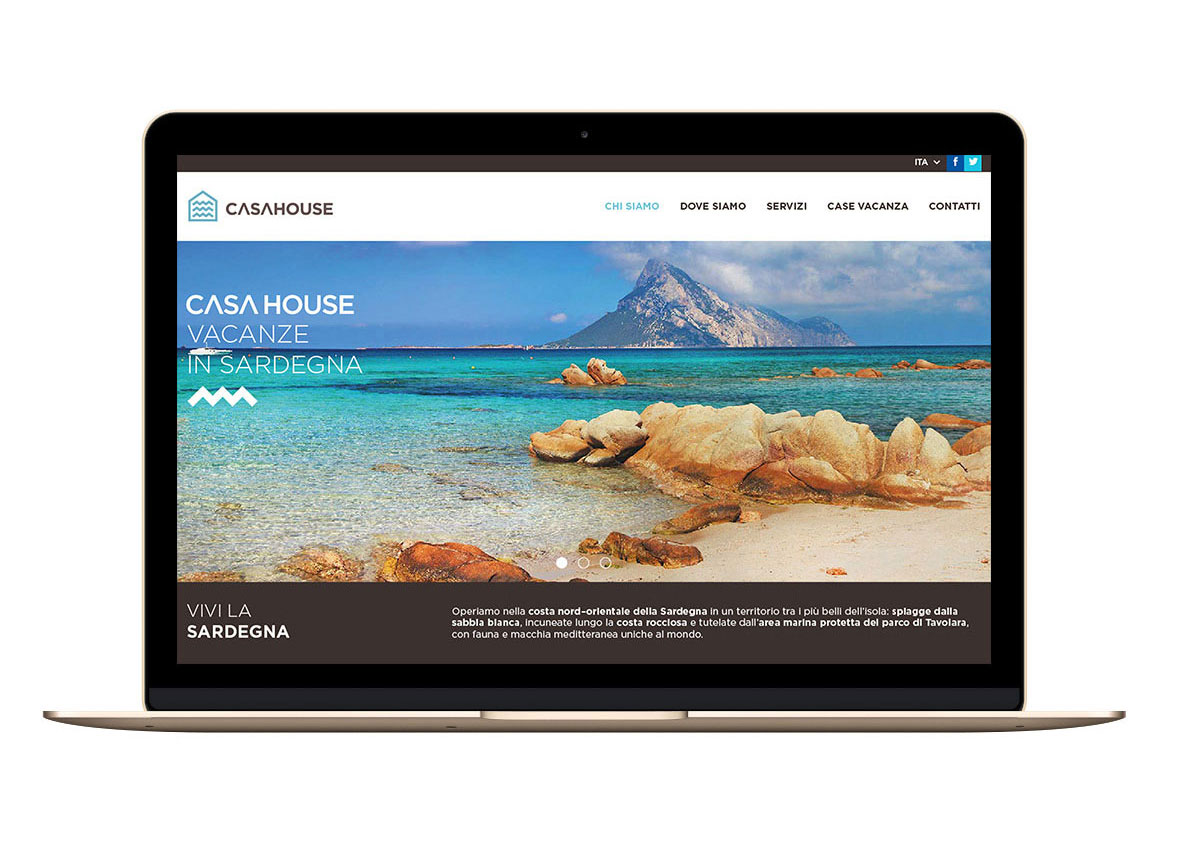 Página Web Casa House