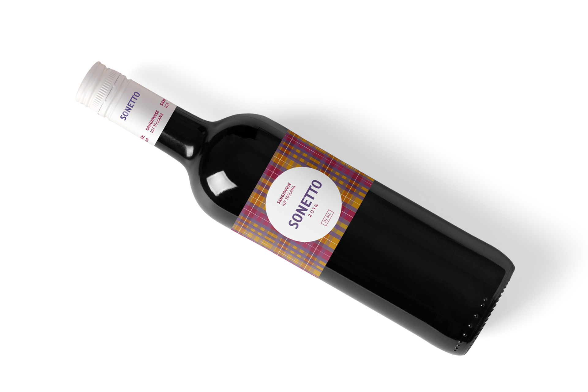 Sonetto Sangiovese Diseño de Packaging
